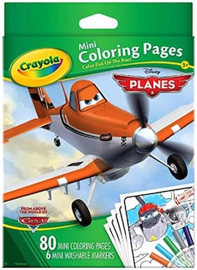 Crayola Mini Coloring Pages-Disney Planes