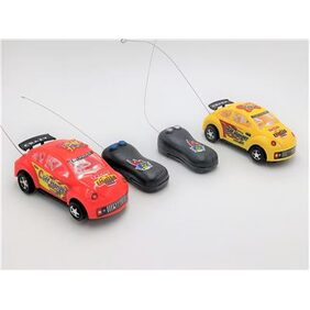 Crazy 2 Channel Remote Control Car (Single Car, Assorted Colors)