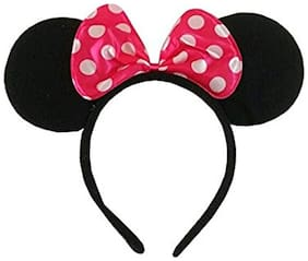 Crazy Sutra Minnie Mouse Headband with ears Red Color