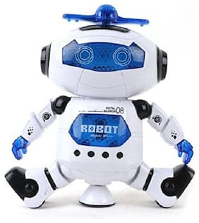 crazy toys Latest Mulitcolour Walking Dancing Robot