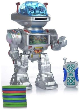 crazy toys Multicolor Plastic Robot With Light And Music