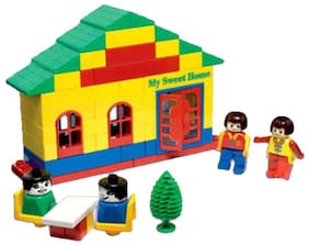 crazy toys Multicolor Blocks Home Sweet Home