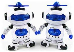 crazy toys  Multicolour Robots - Pack of 2