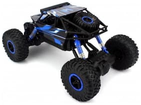 crazy toys Rock Crawler Off Road Race Monster Truck 4WD 2.4GHz, Green