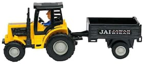 crazy toys Tractor With Trolly