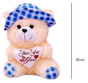 ZYUMA Cream Teddy Bear - 40 cm , 1