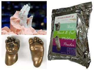 Create-La-Mould MOULDING POWDER Life Cast Mold Baby Hand 450g - ECONOMIC QUALITY