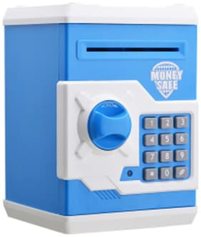Tech Gear Creative Password Safe Atm Piggy Bank Money Box Safe Automatic