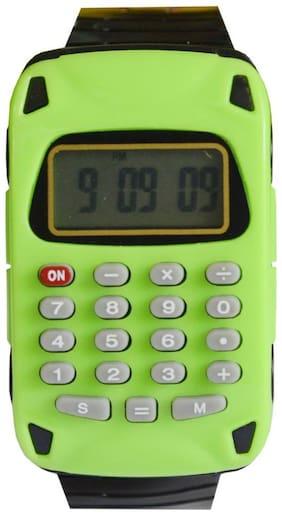 Creator  Apple -03 Calculator Dial New Digital Watch - For Boys & Girls