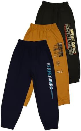CREMLIN CLOTHING Boy Cotton blend Track pants - Multi