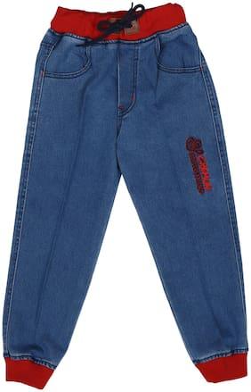 CREMLIN CLOTHING Boy's Regular fit Jeans - Blue