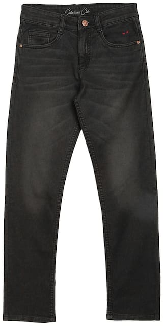 Crimsoune Club Boy's Slim fit Jeans - Black