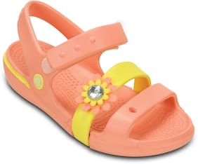 Crocs Baby Girl Sandals Orange