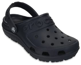 Crocs Boys Black Hilo Clogs