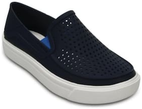 Crocs Blue Canvas shoes for boys