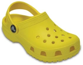 Crocs Kid's Classic Boys Clog In Yellow