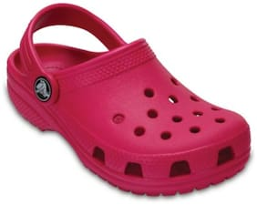 Crocs Girls Pink Classic Clogs
