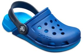 Crocs Kid's Clog Croslite Blue Boys 7-8 Years