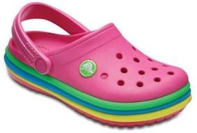 Crocs Kid's Clog Croslite Pink Girls 6-7 Years