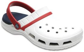 Crocs Clog Croslite White Boys 11-12 Years