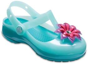 Crocs Girls Blue Isabella Clogs