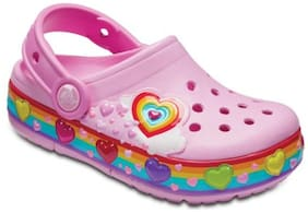 Crocs Kid's Clog Croslite Pink Girls 3-4 Years
