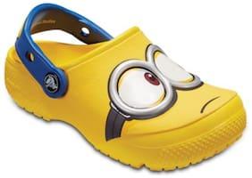 Crocs Clog Croslite Yellow Boys 3-4 Years