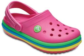 Crocs Girls Pink Crocband Clogs