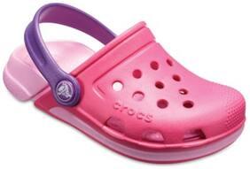 Crocs Kid's Clog Croslite Pink Girls 5-6 Years