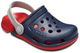 Crocs Boys Blue Electro Clogs