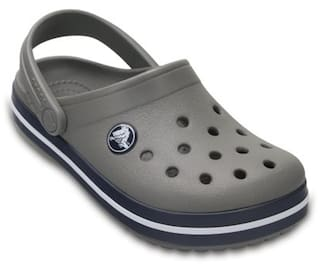 5ed569a18 Buy Crocs Crocband Boys Clog In Grey Online at Low Prices in India ...