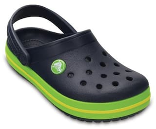 2585e60dda922 Buy Crocs Crocband Boys Clog In Blue Online at Low Prices in India ...