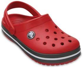 Crocs Kid's Crocband Girls Clog In Red