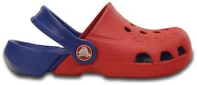 Crocs Girls Blue Electro Clogs
