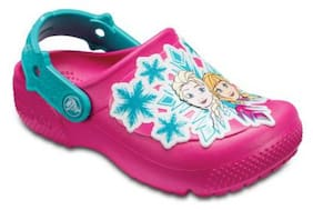 Crocs Girls Pink FunLab Clogs
