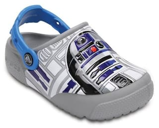 Crocs Funlab Lights R2d2 Boys Clog In Blue