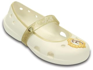 09e755e24 Buy Crocs White Ballerinas For Girls Online at Low Prices in India ...