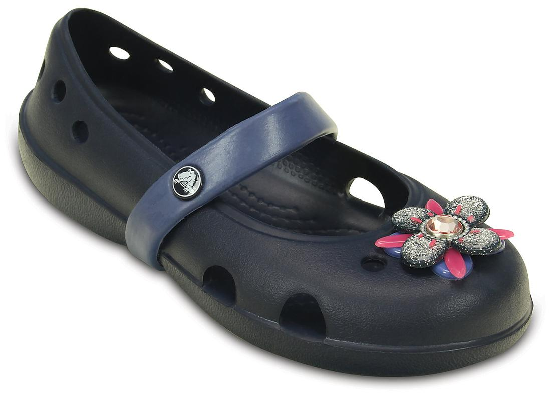 27e8ced64 Buy Crocs Blue Ballerinas For Girls Online at Low Prices in India ...