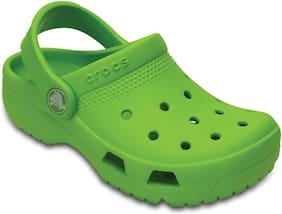 Crocs Kids Green Coast Clogs 204094-395