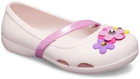 Crocs Infants Pink Lina Ballerinas