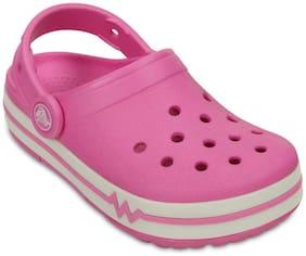 Crocs Boys Pink CrocsLights Clogs