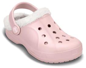 Crocs Girls Pink Ralen Clogs