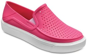Crocs Pink Girls Casual Shoes