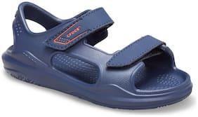 Crocs Infants Blue Swiftwater Sandals