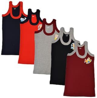 CH CRUX & HUNTER Vest For Boys - Multi , Set of 5