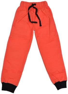CH CRUX & HUNTER Boy Wool Track pants - Orange