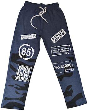 CH CRUX & HUNTER Boy Cotton Track pants - Blue