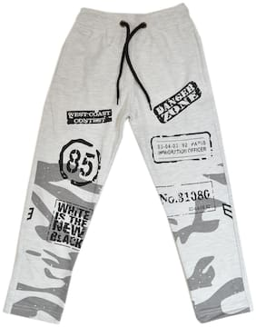 CH CRUX & HUNTER Boy Cotton Track pants - Grey