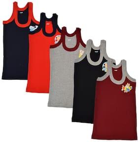 CH CRUX & HUNTER Vest For Boys - Multi , Pack of 5