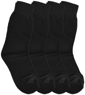CH CRUX & HUNTER Boy Cotton Socks - Black